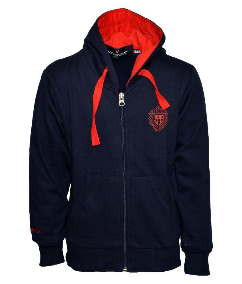 Vinenzia Navy Sweatshirt