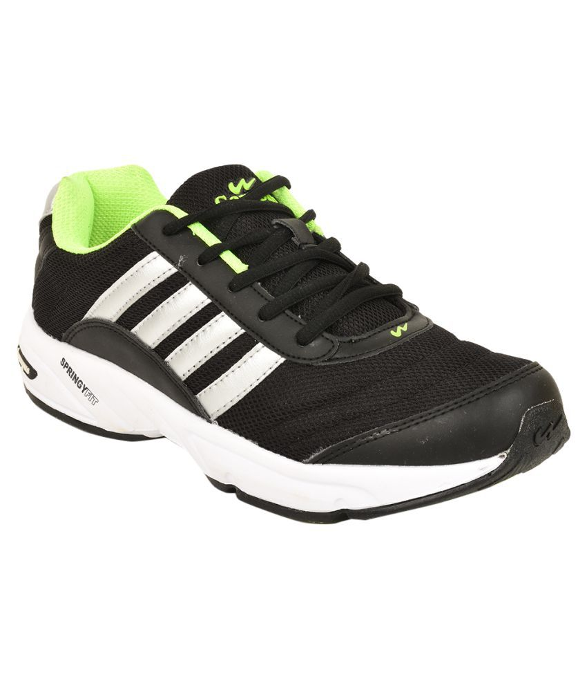 Campus 3G-378 Black Running Shoes