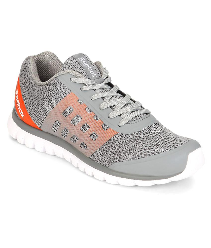 Reebok Gray Running Shoes - Buy Reebok Gray Running Shoes Online at Best  Prices in India on Snapdeal bc6cee459