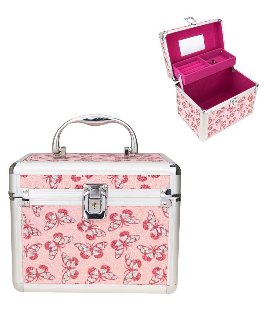 Zeva Pink Designer Vanity Box