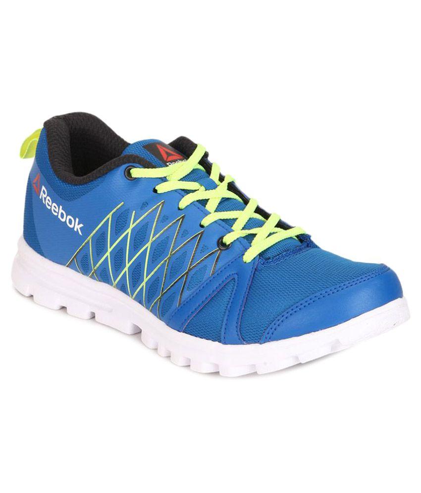 reebok pulse run blue running shoes buy reebok pulse run