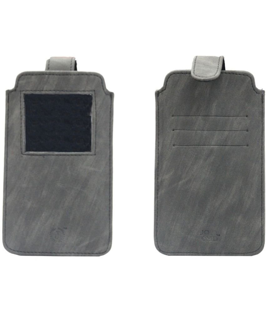 Alcatel One Touch Flash Plus Holster Cover by Jojo - Grey