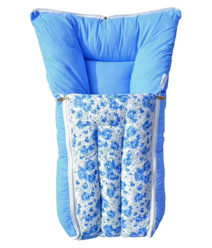 BabyGo Blue Sleeping Bag