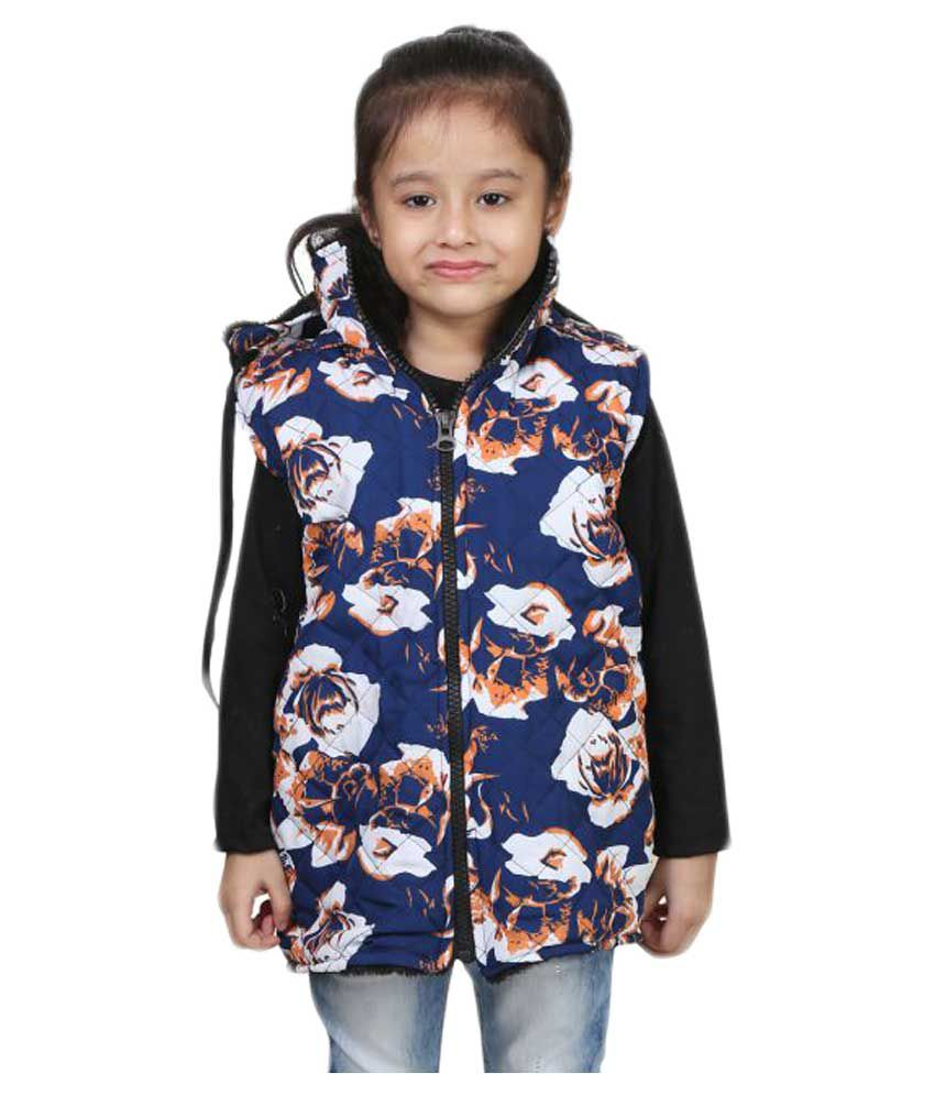 Crazeis Multicolour Quilted Jacket