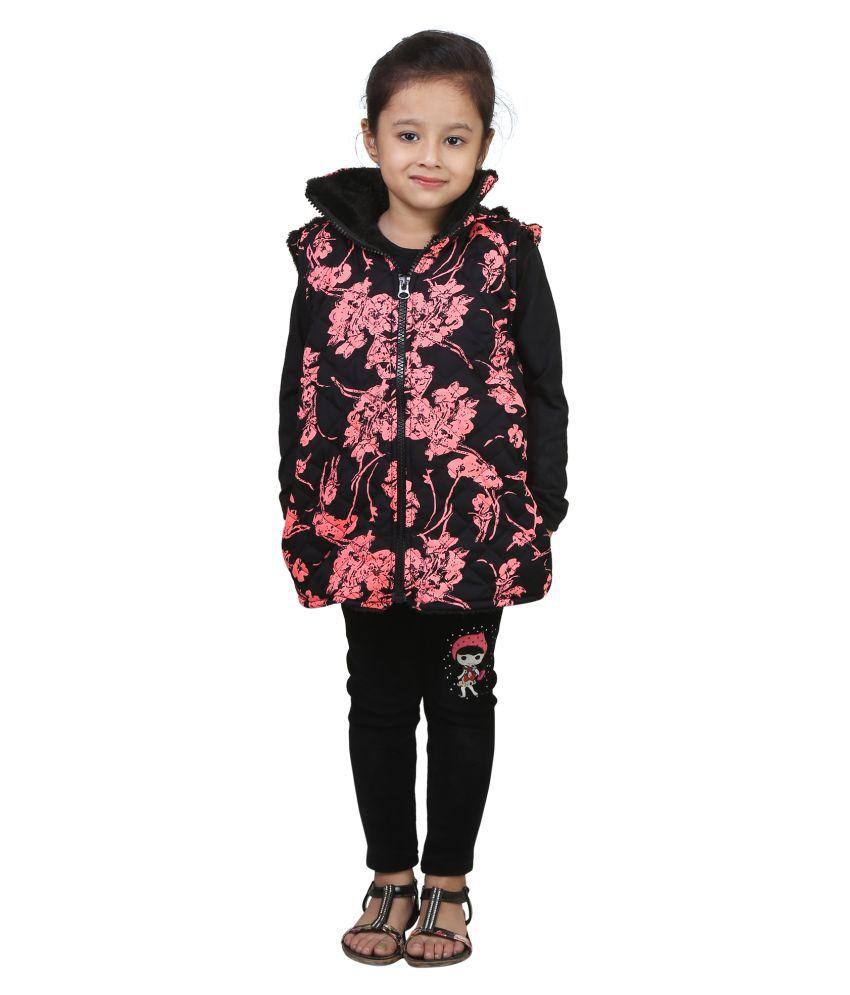 Qeboo Half Sleeve Jacket For Girls