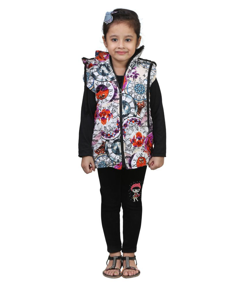 Qeboo Half Sleeve Jacket For Girls