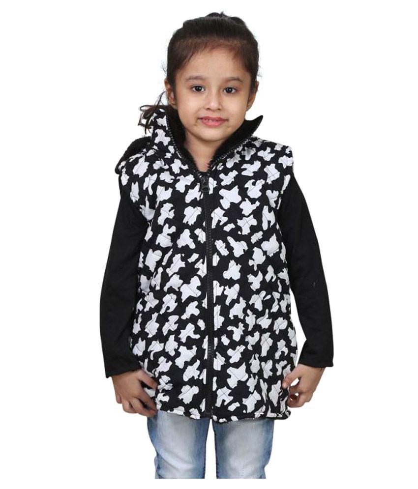 Qeboo Sleeveless Jacket For Girls