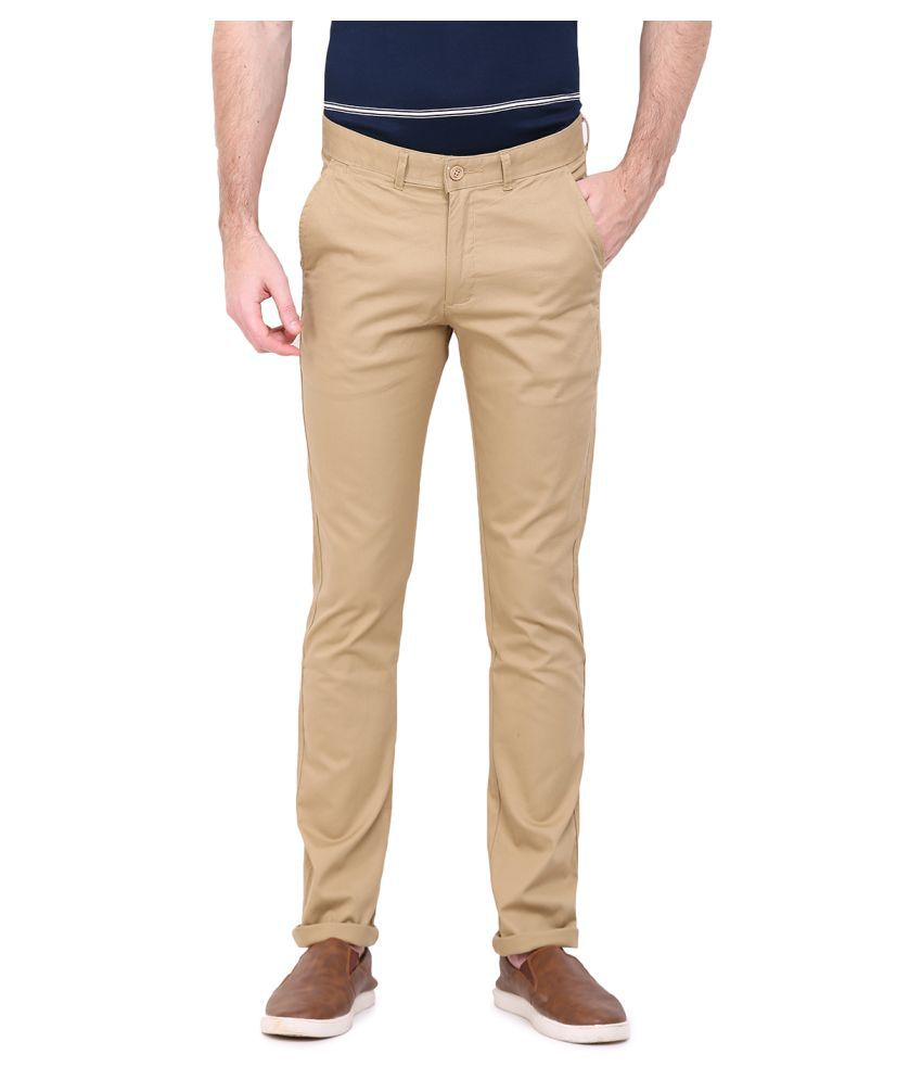 Duke Coffee Regular Flat Trouser