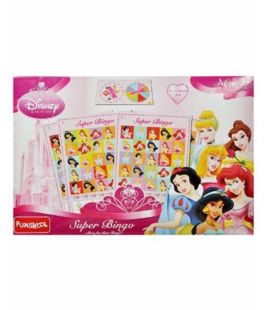 Princess Bingo Prices