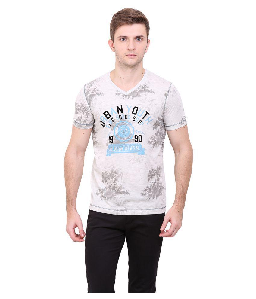 Duke Grey V-Neck T-Shirt