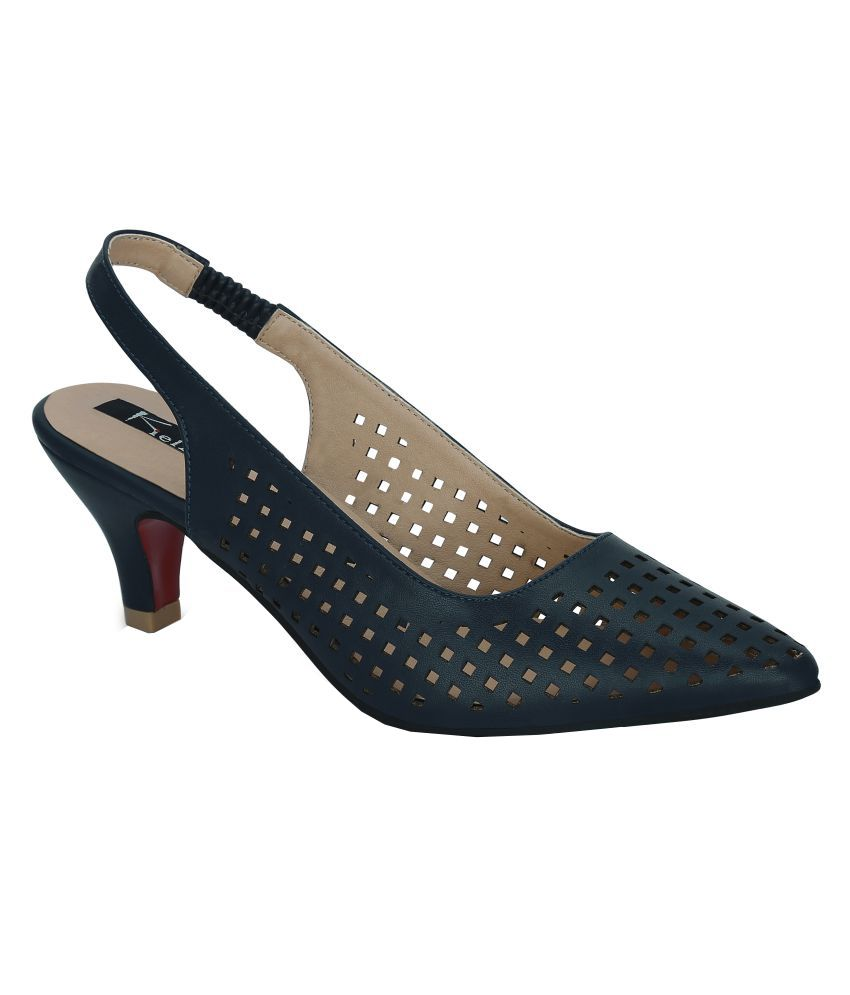 f93922e2d03 Kielz Navy Stiletto Heels Price in India- Buy Kielz Navy Stiletto Heels  Online at Snapdeal