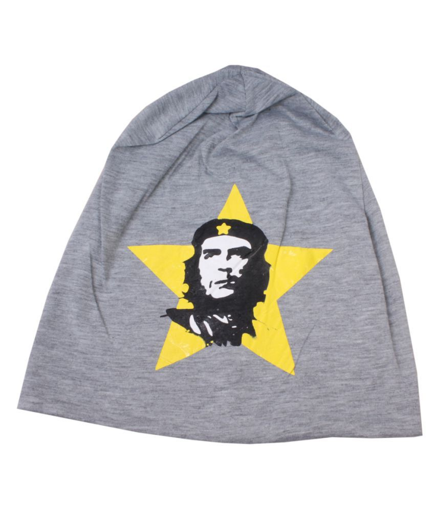 Sushito Gray Plain Polyester Caps