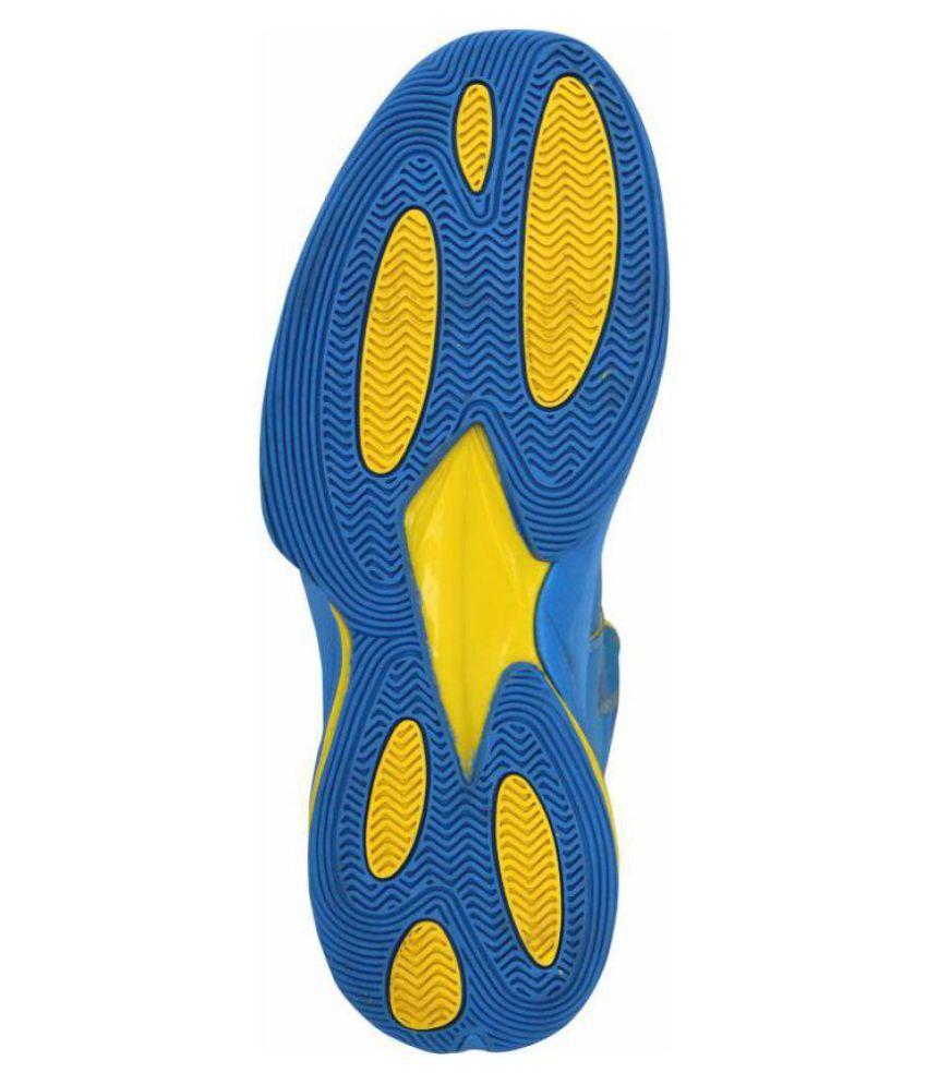 8bc3c6661154 Nivia Typhoon Basketball Shoes Midankle Male Blue-495411  Buy Online ...