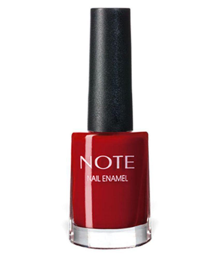 Note Italy Nail Polish Red 9 ml
