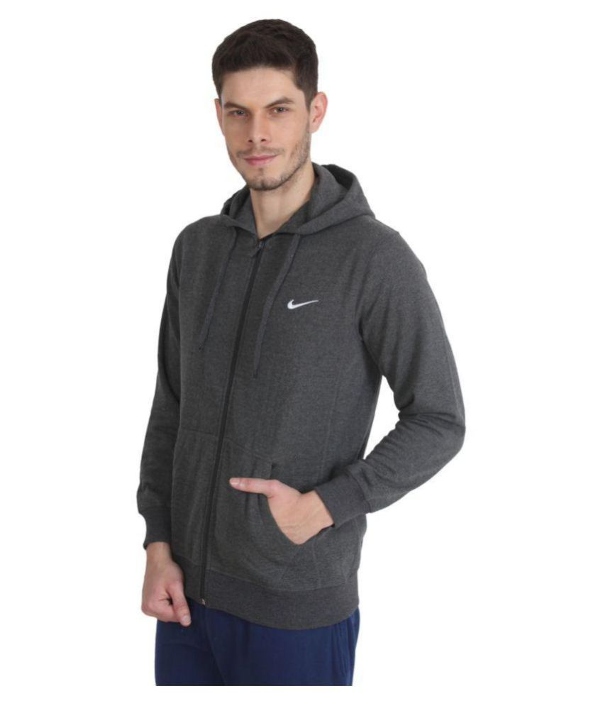 1e4c9c4166725 Nike Grey Casual Jacket - Buy Nike Grey Casual Jacket Online at Low ...
