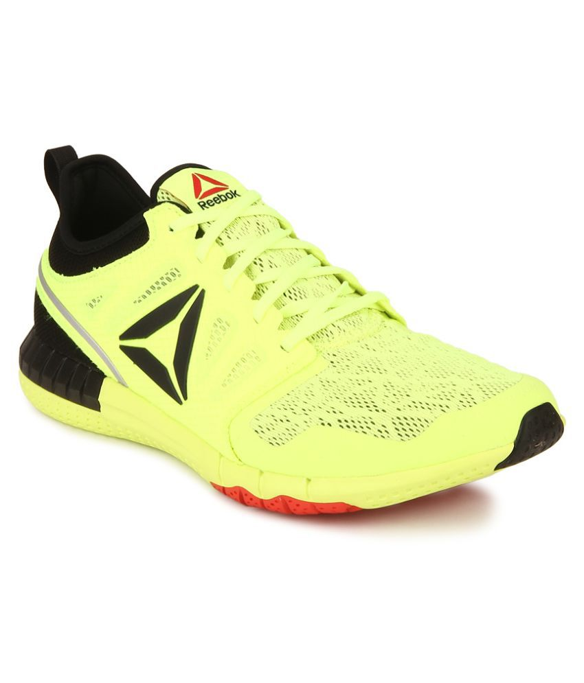 a9326041672 Reebok Zprint 3D Yellow Running Shoes - Buy Reebok Zprint 3D Yellow Running  Shoes Online at Best Prices in India on Snapdeal