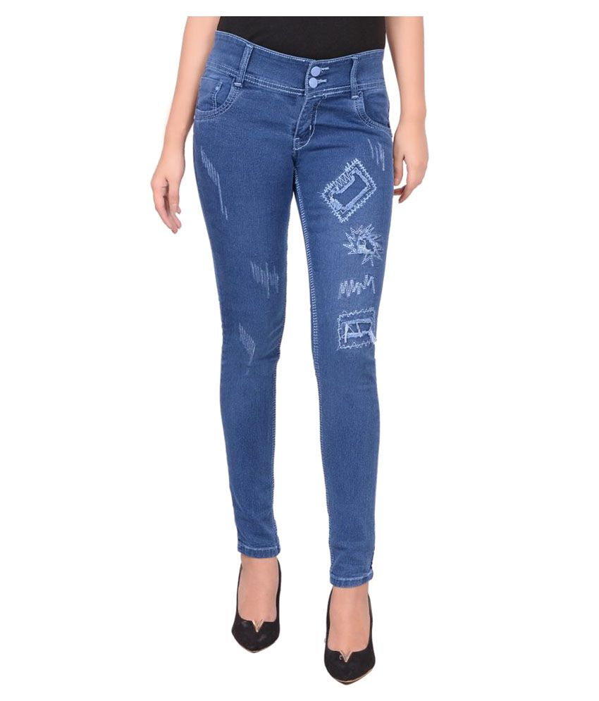 Smart Girl Denim Lycra Jeans