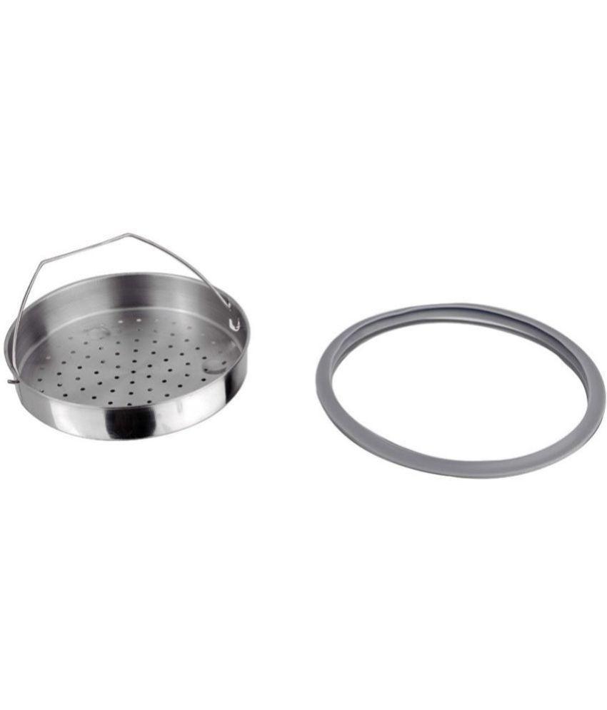 e284145ac ... Wonderchef Secura 5 Pressure Cooker 3 Ltr 3 Stainless Steel InnerLid Pressure  Cooker ...