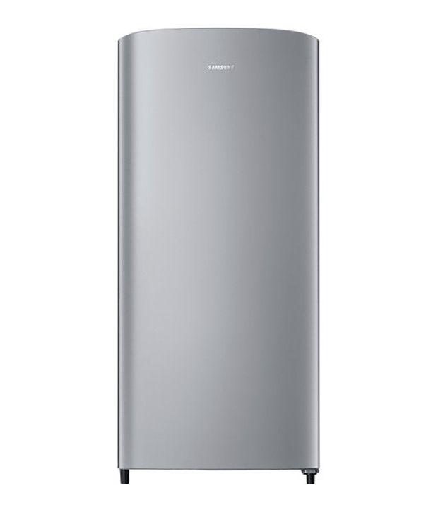 Samsung 192 Ltr 3 Star RR19J20A3SE/TL Single Door Refrigerator - Elective Silver