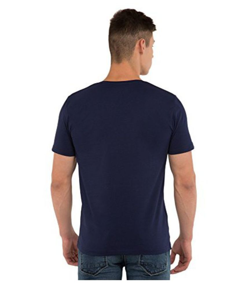 Locomotive Navy V-Neck T-Shirt