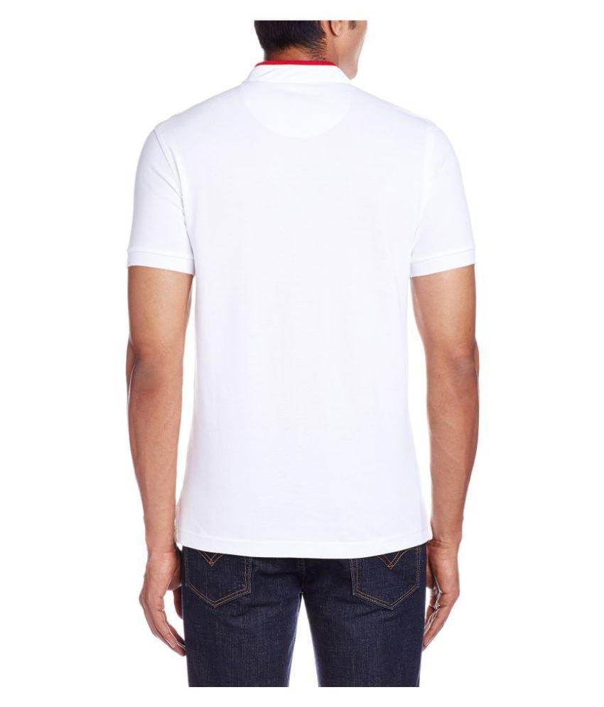 U.S. Polo Assn. White Henley T-Shirt