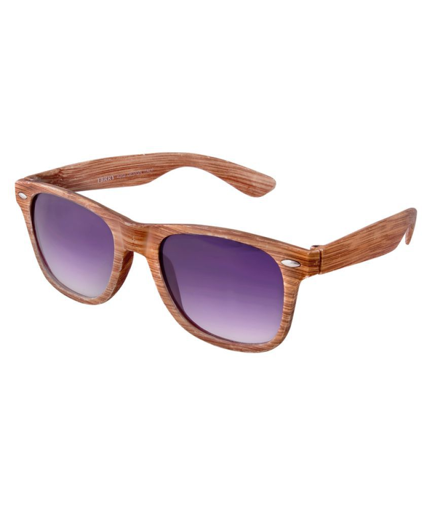 Xlnc Purple Wayfarer Sunglasses ( WWFDBWN01 )