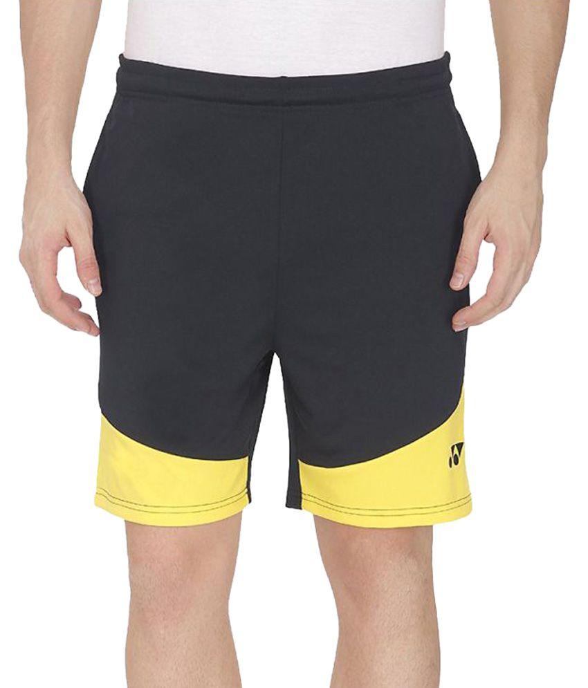 Yonex Black Badminton Shorts