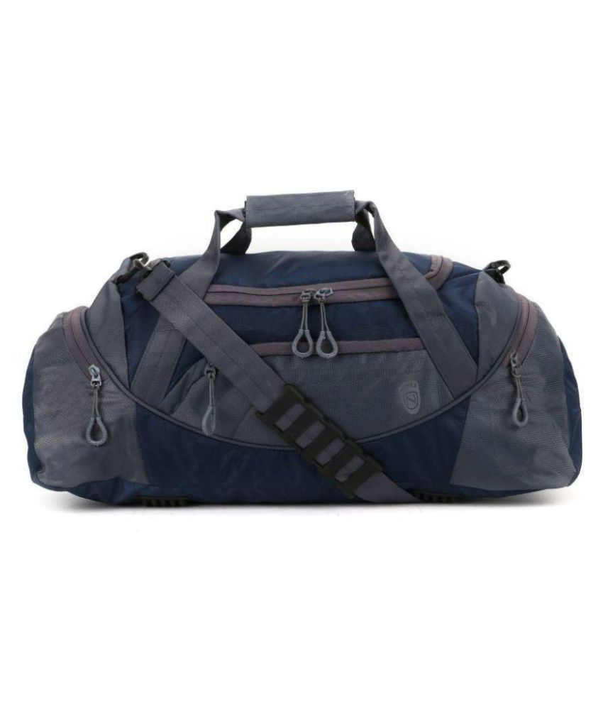 Novex Blue Medium Polyester Gym Bag