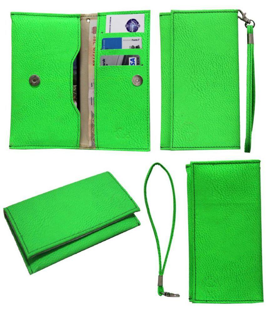 Panasonic Eluga I3 Holster Cover by Jojo - Green