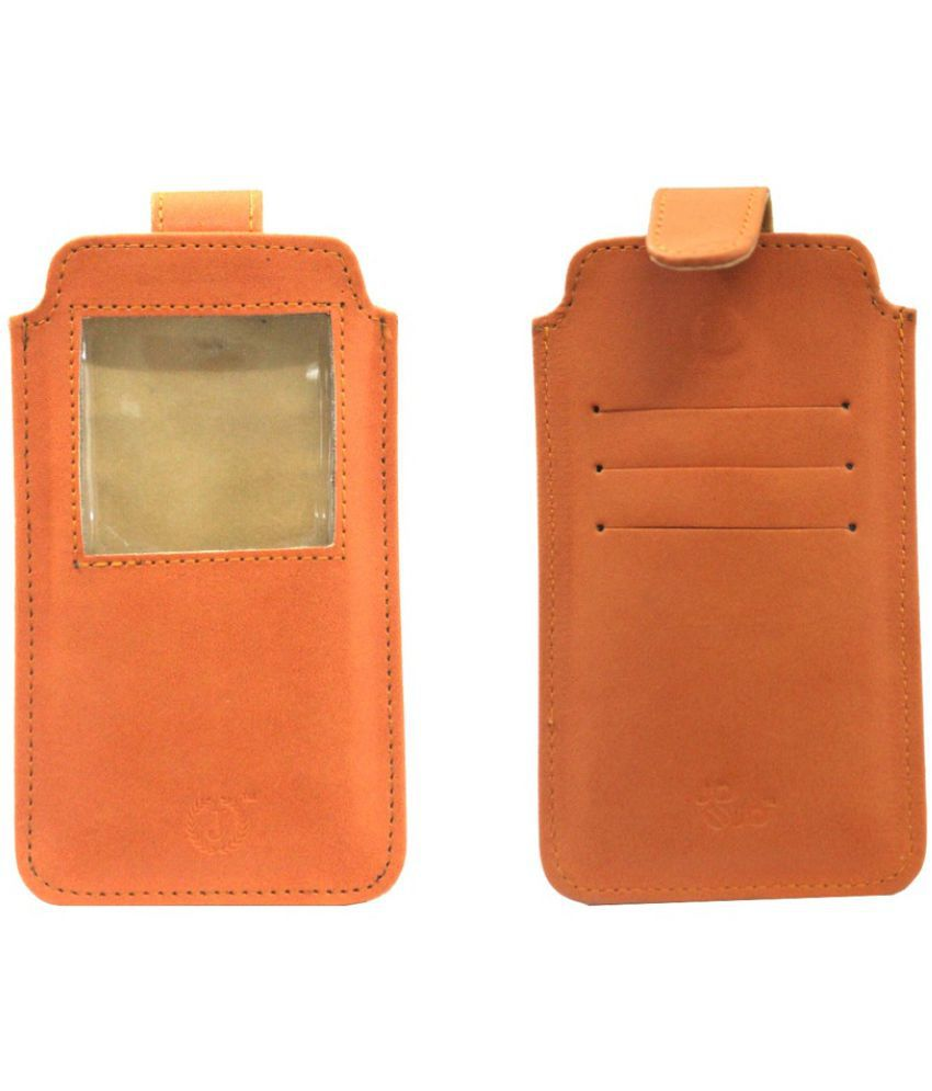 Panasonic Eluga Icon Holster Cover by Jojo - Orange