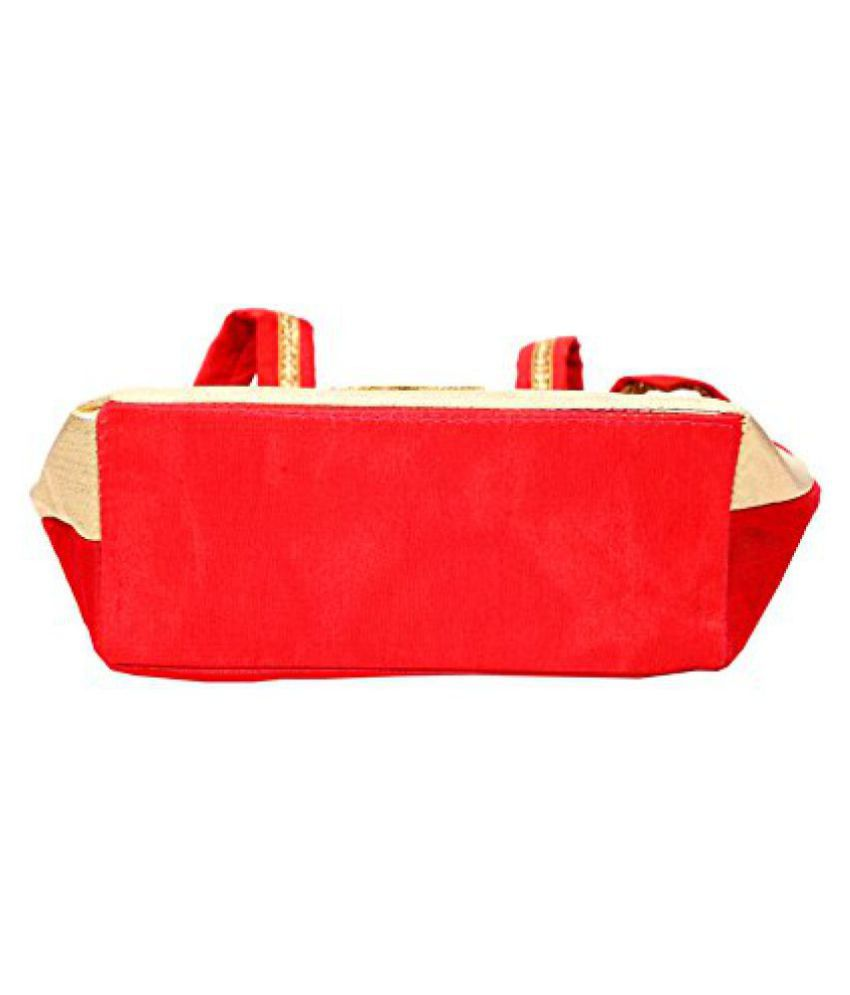Kuber industries Red Shopping Bags - 1 Pc