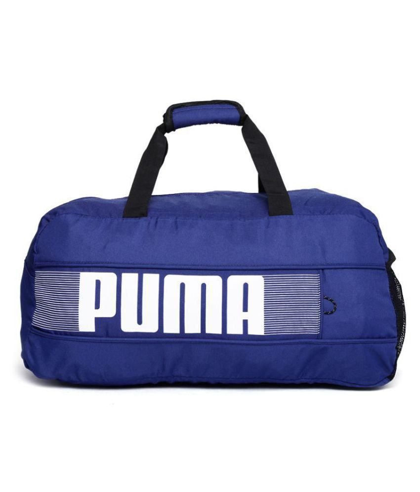 Puma Blue Duffle Bag - Buy Puma Blue Duffle Bag Online at Low Price -  Snapdeal 62f35b428f017