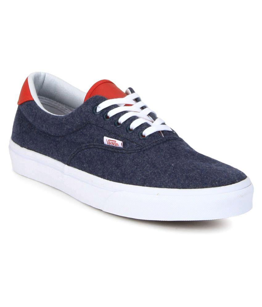 vans era shoes navy
