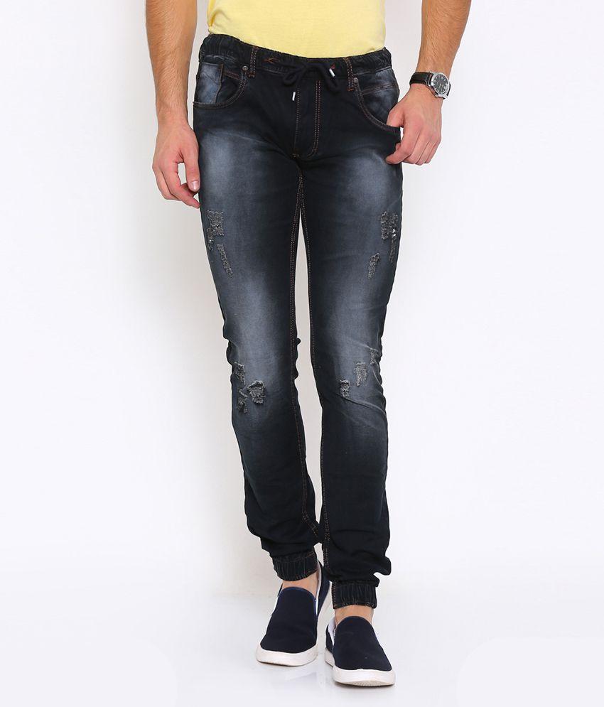 Vintage Black Slim Jeans