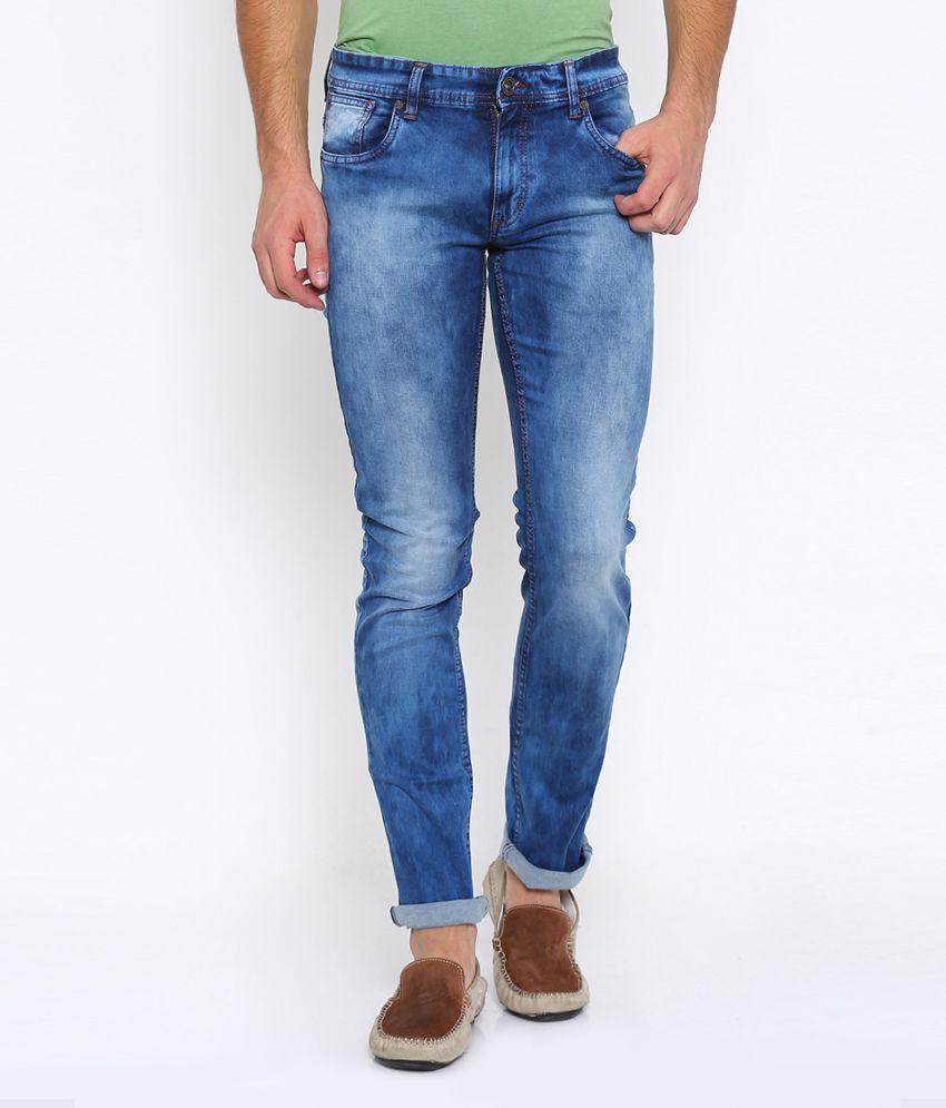 Vintage Blue Slim Jeans