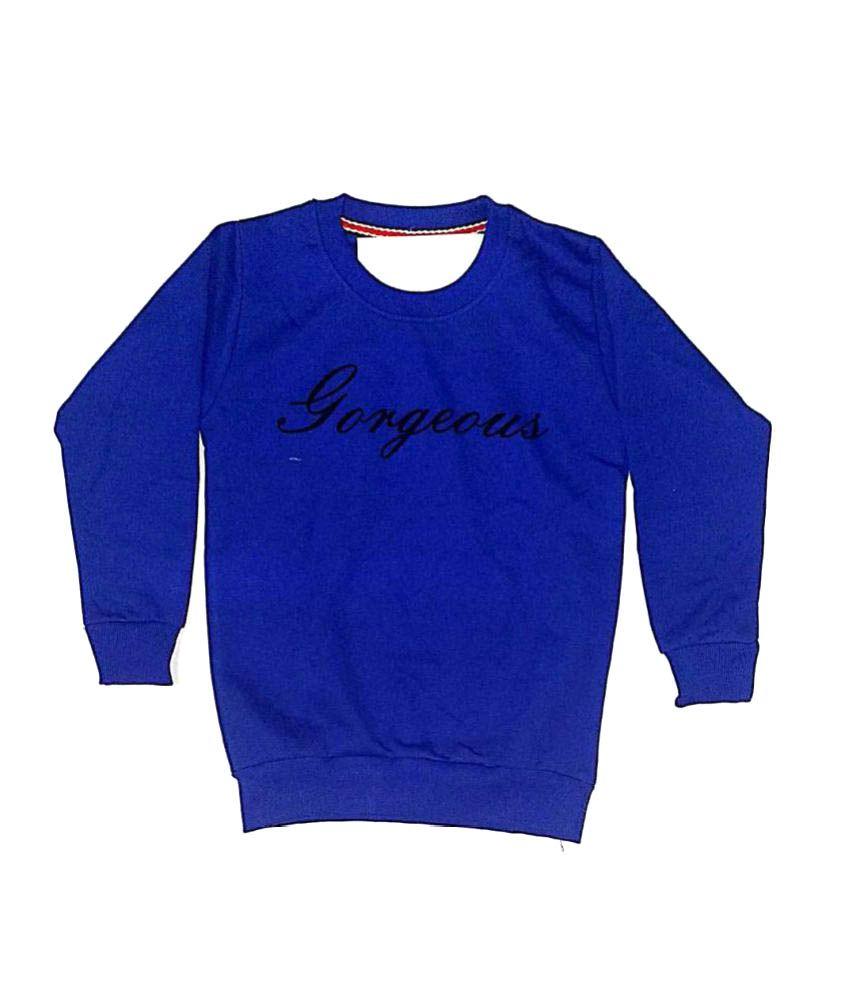 Cuddlezz Dark Blue Sweatshirts