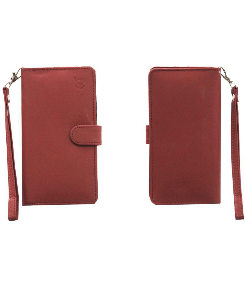 Samsung Galaxy Grand Max Holster Cover by Jojo - Red
