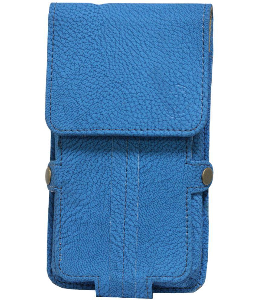 Samsung Galaxy J1 (2016) Holster Cover by Jojo - Blue