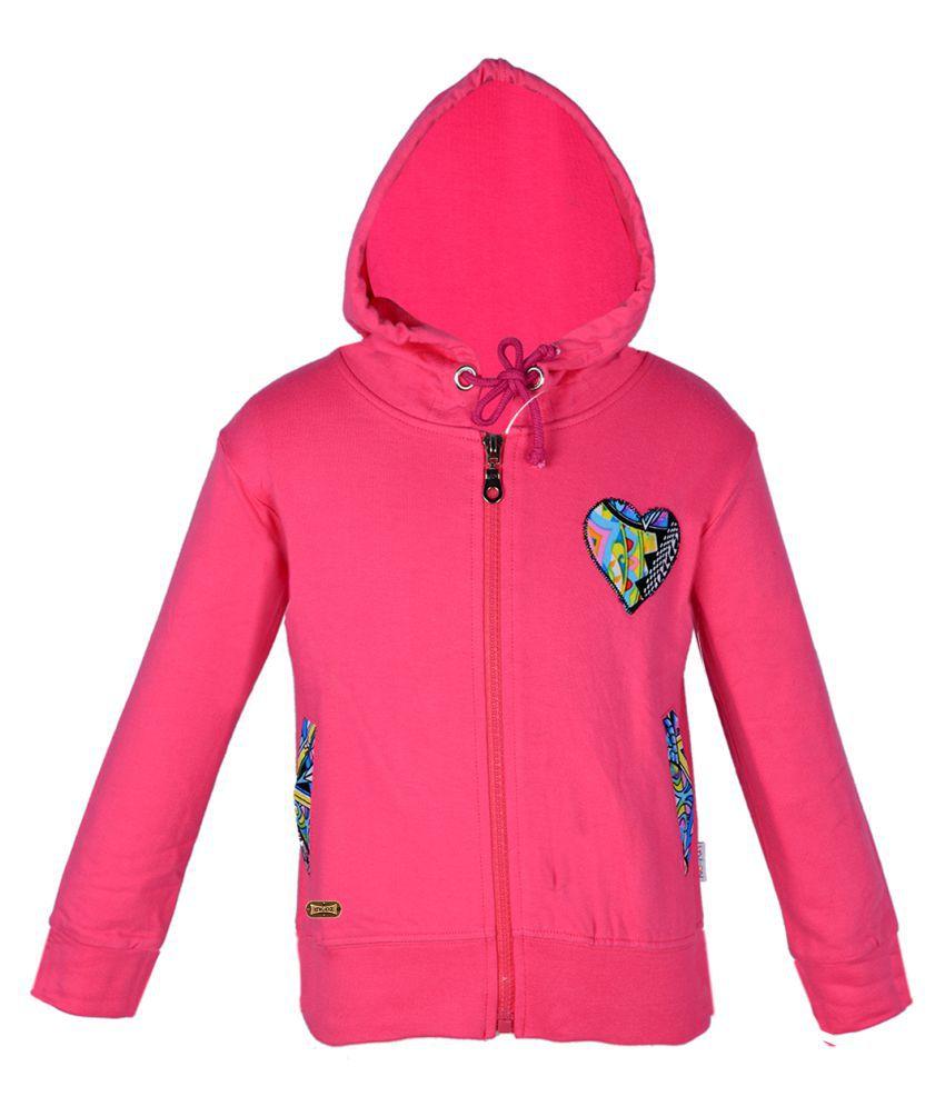 Gkidz Pink Fleece Sweatshirt
