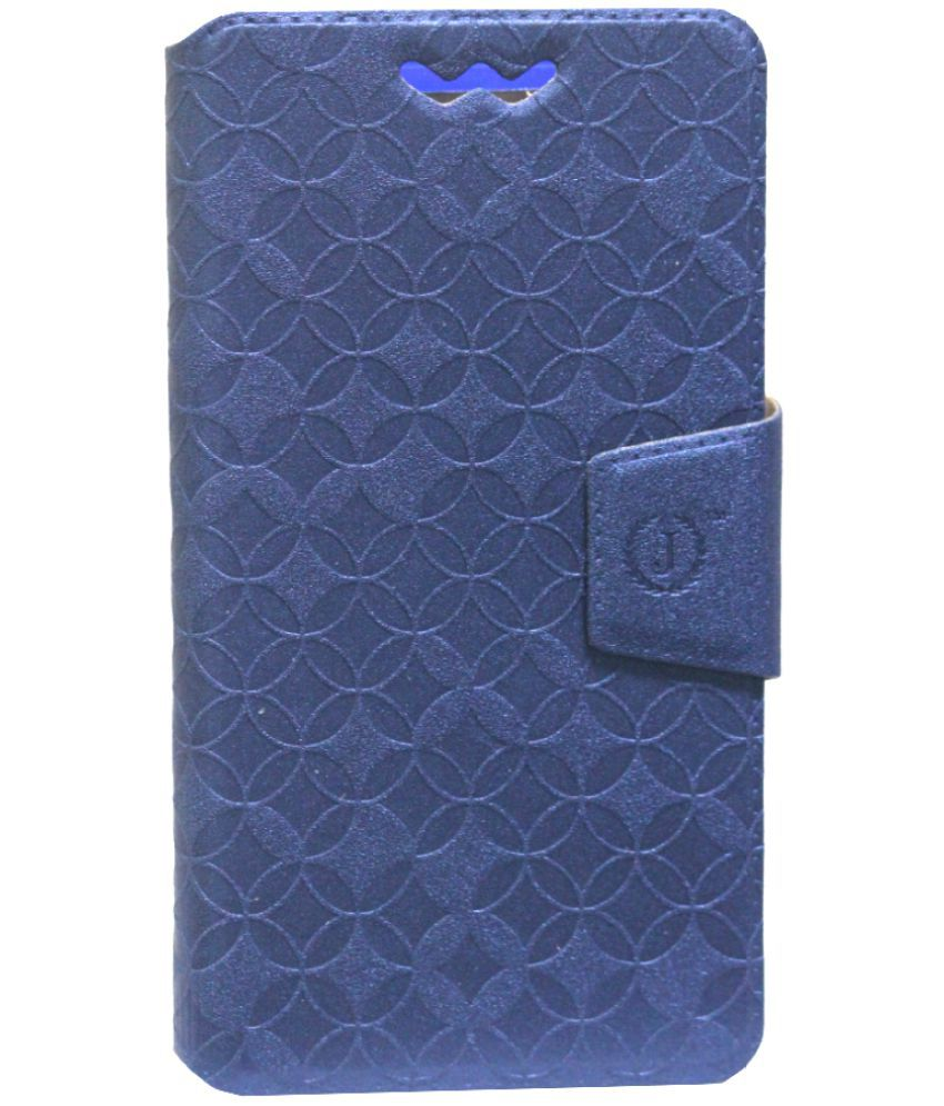 ZTE Avid Plus Flip Cover by Jojo - Blue