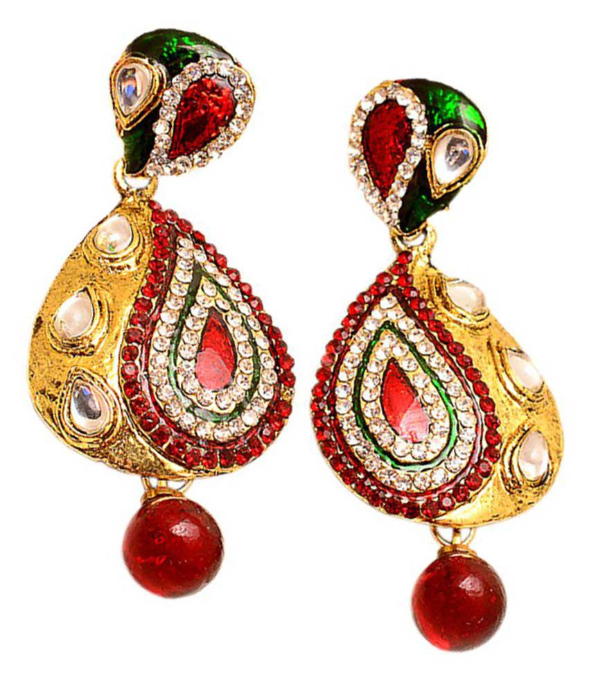 Jewar Mandi Multi Alloy Jewellery Earrings
