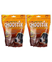 Choostix Lamb Dog Treat, 450 G (Pack Of 2) All Dry