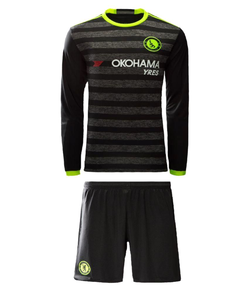 Chelsea Black full sleeves football jersey  Buy Online at Best Price on  Snapdeal a93cc7189