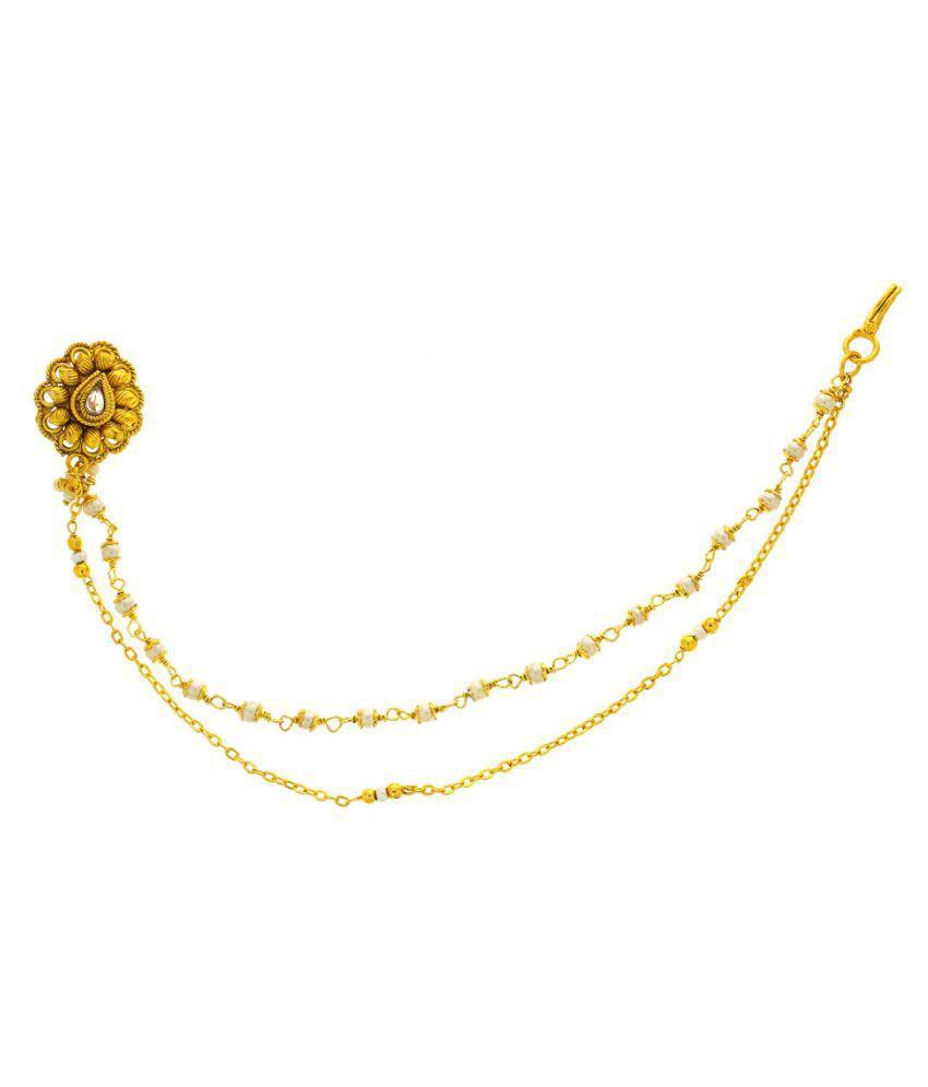 Anuradha Art Golden Dulhan Nath