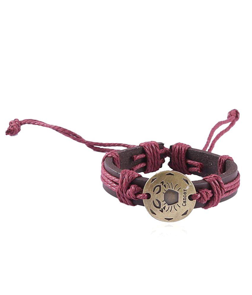 Jewelizer Multicolour Alloy Bracelet