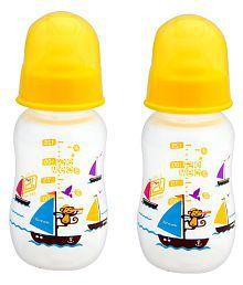 Mee Mee Yellow Feeding Bottle 125ml - Pack Of 2