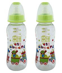 Mee Mee Green Baby Premium 150ml Feeding Bottle   Pack Of 2