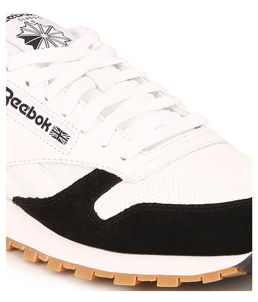 Reebok Cl Leather Spp White Running Shoes - Buy Reebok Cl Leather ... 6c272cefb