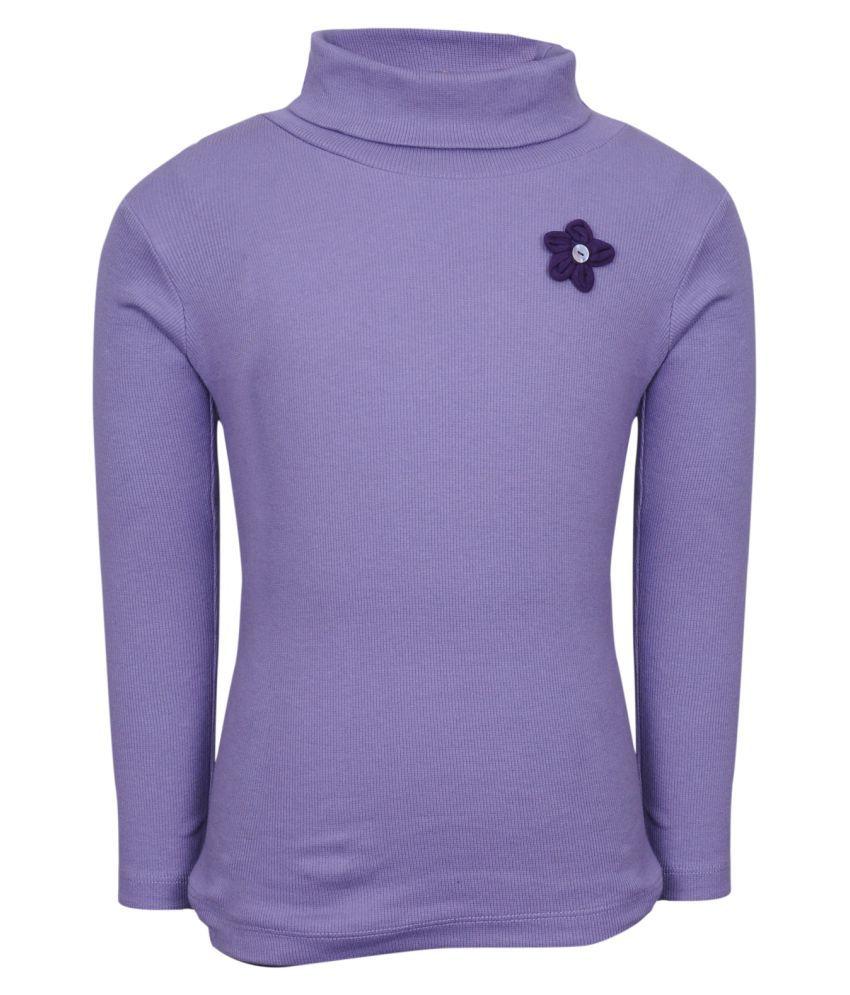 Bio Kid Purple Crew Neck Sweatshirt