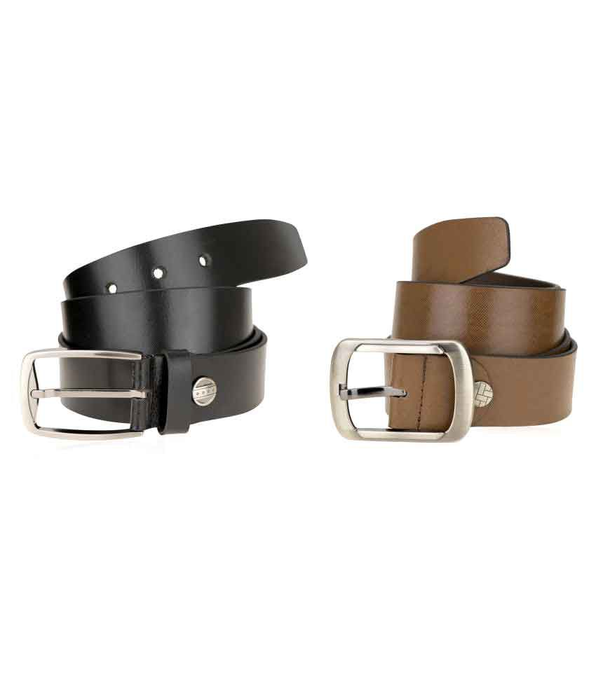 Genious Multi Leather Formal Belts